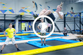 Fitness na trampolinach we Wrocławiu