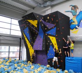 Wspinaczka w Jump Hall